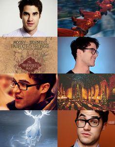 Darren Criss as James Potter
