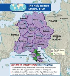 The Holy Roman Empire, 1100