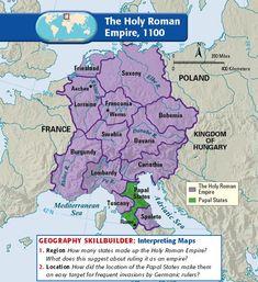 The Holy Roman Empire, 1100