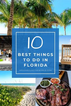 What to Do in Florida | Ten of the very best things to do in Florida while on a Florida vacation. Top beaches, where to eat, road trip ideas, where to find the best shopping and more. A bucket list guide to Florida travel. | Mrs O Around the World | #Travel #Florida #FloridaTravel | florida things to do in | things to do in florida | florida things to do | travel florida | florida travel | florida adventures | florida beaches | florida attractions Visit Florida, Florida Vacation, Florida Travel, Florida Beaches, Usa Travel, Top All Inclusive Resorts, Travel Around The World, Around The Worlds, Stuff To Do