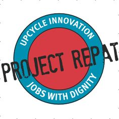 Project Repat - Don't have the skill to do that old t-shirt upcycle project u've been wanting to do? No Problem. Project Repat will do it 4 u - using US employees earning a living wage.