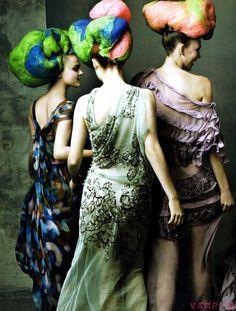 Annie Leibovitz Fashion Shoot, Fashion Art, Editorial Fashion, Turbans, Editorial Photography, Fashion Photography, Annie Leibovitz Photography, Vogue Us, Creative Hairstyles