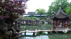 Suzhou - China - la petite Venise chinoise près de Shanhai