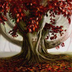 Weirwood Tree: Game of Thrones digital fan art by Benco42