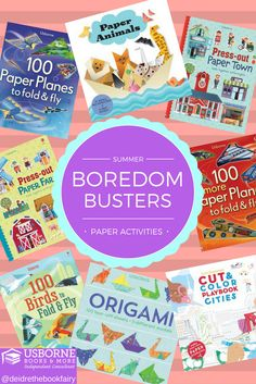 Take a look at these fun paper activity books from Usborne Books & More! They will keep your kids busy for hours, and they are great for imaginative play! Keep your kids busy this summer with these! Check them out here: http://e6365.myubam.com