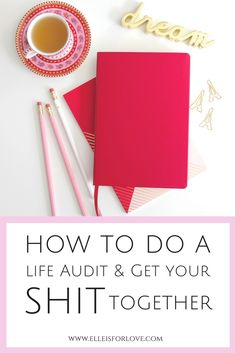 Are you ready to finally get your shit together? If you don't know where to start and need some direction, find out how a life audit can help you get your life on track so that you can slay your goals and start living your dream life. Includes a FREE life audit and wheel of life to guide you!  //self help, personal improvement, personal growth, confidence, personal development goals,  goaldigger, goalsetting, lifegoals, goalsetter, millennialblogger