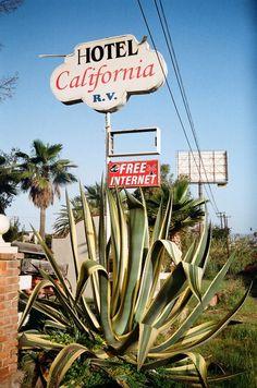 hotel california #NastyGalFest