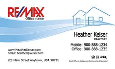 Cool Realtor / Real Estate / Business Card / Remax