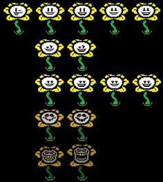 Flowey faces, Undertale