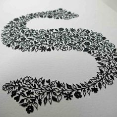S papercut | by Suzy Taylor
