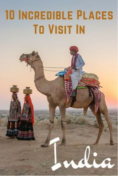 India is incredible! These are ten of my favorite places to visit and things to do, including festivals.