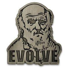 Darwin Evolve Pin