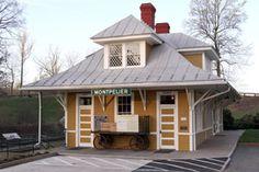 Train Depot, ca 1910