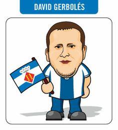 Caricatura de David Gerbolés (encargo personal).