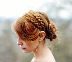 Hairstyle Idea From Pinterest: Headband Braid How To | Beauty High