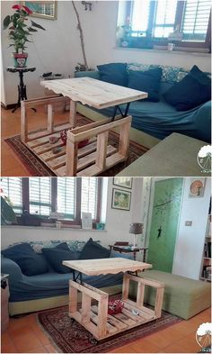Catch This Simple Yet Amazing Designed Furniture Piece Of Wood Pallet That  Is Perfect To Make