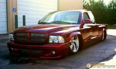 Feature vehicle 1999 Dodge Dakota owned by Tommy Warwick. Dodge Dakota, Slammed
