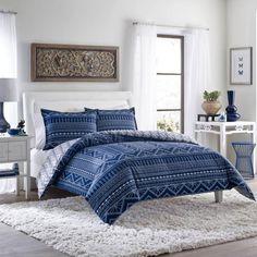 Poppy & Fritz Pippa Indigo Comforter Set