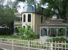 Ike West House, King William District, San Antonio by texastravel, via Flickr