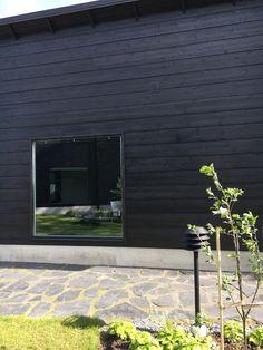 talo markki musta ulkoväri puutalo moderni hirsitalo