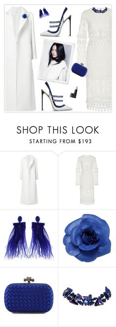 """Pump It Up"" by marion-fashionista-diva-miller ❤ liked on Polyvore featuring Oscar de la Renta, Chanel, Bottega Veneta, Christian Lacroix, NARS Cosmetics, contestentry and polyPresents"