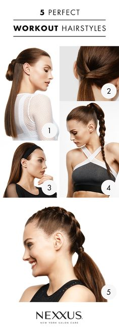 Why should you have to sacrifice your hairstyle every time you work out? These practical - and stunning - gym looks can stand up to your sweat session and whatever comes next. Plus, you only need 1 Nexxus product to achieve each look (it doesn't get any easier than that!). Find out which one suits you best – are you a Head Turner or Ballet Beautiful? Click through to find out what product you need to achieve your favorite workout look.