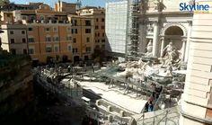 Camara web en tiempo real Trevi Fountain