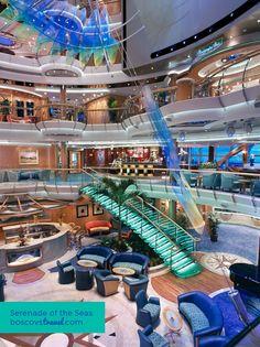 Serenade of the Seas Atrium #RCI #Travel #Cruise