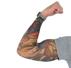 Fake tattoo sleeves with unique design