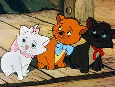The Aristocats: Yeah, I'm a Cool Cat, Baby, Wanna See Me Meow? The Aristocats Walt Disney Productions labored over its films. Disney Pixar, Disney Cats, Disney And Dreamworks, Disney Animation, Disney Cartoons, Walt Disney, Disney Characters, Fictional Characters, The Aristocats