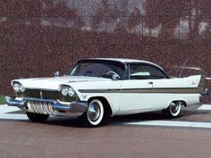 1958 Plymouth Fury Two Door Hardtop Maintenance/restoration of old/vintage vehicles: the material for new cogs/casters/gears/pads could be cast polyamide which I (Cast polyamide) can produce. My contact: tatjana.alic@windowslive.com