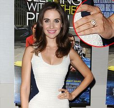 Alison Brie and Dave Franco are engaged -- take a closer look at her huge engagement ring!