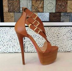 Chiq is the best, check them out on FB. #Fashion #Heels #Brown #Chiq #Love