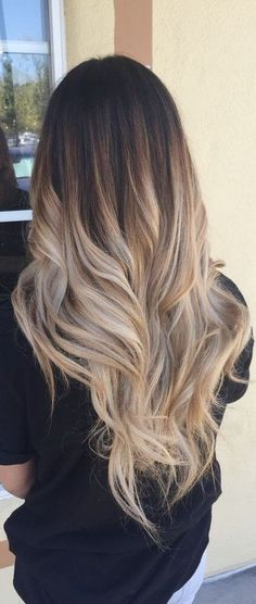 32 Fun Summer Hair Colors For Brunettes Blondes 2019 - Love Casual Style - Easy Mom Beauty & Hair - Hair Styles Hair Color Ideas For Brunettes Balayage, Summer Hair Color For Brunettes, Hair Color Balayage, Blonde For Brunettes, From Brunette To Blonde, Haircolor, Hair Highlights, Caramel Highlights, Hair Styles For Brunettes