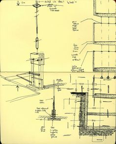 Sketch of Kunsthaus Bregenz by Peter Zumthor (by dneer, via Flickr)