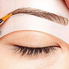 8 шт. макияж Новый стиль кошка подводка для глаз трафарет для бровей карандаш для глаз комплект модель для бровей шаблона верх низ для