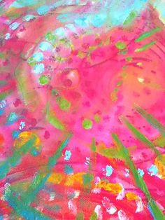 Colour Energy Work. Original Art ©Louise Gale. Mixed Media on Canvas. http://louisegale.com