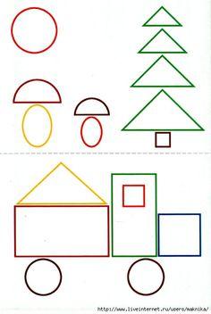 2 Fine Motor Activities For Kids, Preschool Learning Activities, Math For Kids, Toddler Activities, Preschool Activities, Teaching Geometry, Teaching Shapes, Shape Games, Math Projects