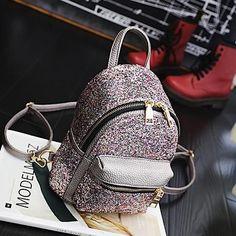 Mini Sequin Backpack
