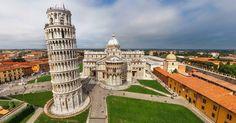 Roteiro de um dia em Pisa #viajar #viagem #itália #italy