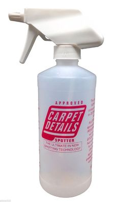 🐶 10% of the sales of this will benefit A Dog's Life Rescue - Carpet Details Spotter Carpet Upholstery Spot Cleaner Stain Remover 16oz Bottle #CarpetDetails