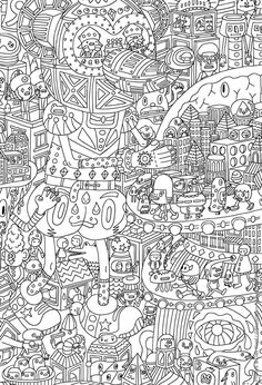 Relax With These 188 Free Printable Coloring Pages For Adults