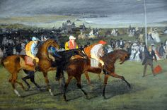 Edgar Degas - At the Races: The Start at Harvard Art Museum Cambridge MA   Flickr - Photo Sharing!