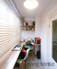 사용자의 상황에 따라 물건을 쌓아두는 창고가 되기도 하고, 우리집만의 개성있는 알파룸이 되기도 하는 베란다. 가능성 넘치는 공간, 베란다 활용의 좋은 사례.
