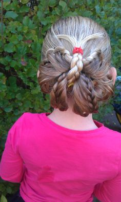 Butterfly #cutegirlshairstyles #hairstyles for girls