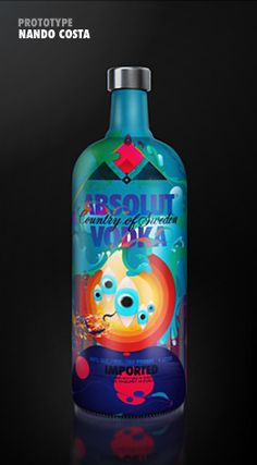 Amazing Absolut Vodka Inspiration.   This one's crazy and I like it. How about you vodka peeps? PD