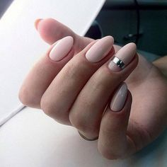 Almond nails. Me encanta esa uña