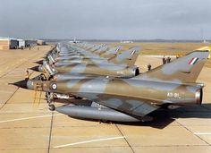 RAAF Mirage III-OA's at Willytown .