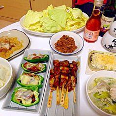 女子会(^O^)食べ物がおやじ!笑 - 2件のもぐもぐ - おつまみ+豆乳鍋 by w01yk20m06