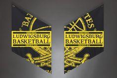 Armfahnen Barock Pirates Ludwigsburg  Zeig Deinen Jubel mit den Armfahnen!